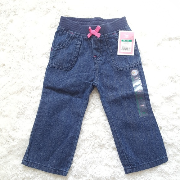 Clothing, Shoes & Accessories Circo Girls Green Pants With Pockets 18m